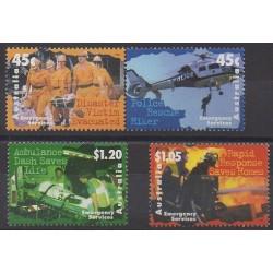 Australie - 1997 - No 1600/1603 - Pompiers