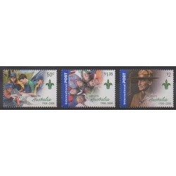 Australie - 2008 - No 2806/2808 - Scoutisme