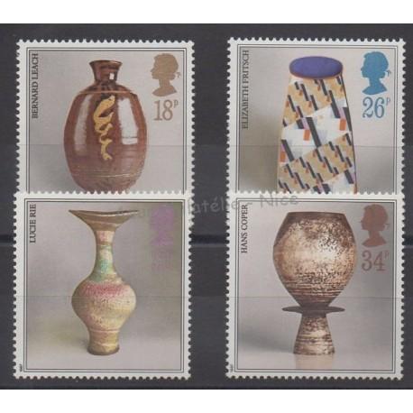 Grande-Bretagne - 1987 - No 1284/1287 - Art