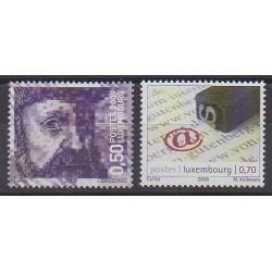 Luxembourg - 2009 - No 1794/1795 - Sciences et Techniques