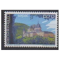 Luxembourg - 2009 - No 1786 - Châteaux