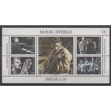 Sweden - 1983 - Nb BF 11 - Music
