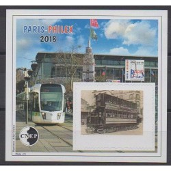 France - Feuillets CNEP - 2018 - No CNEP 78a - Transports