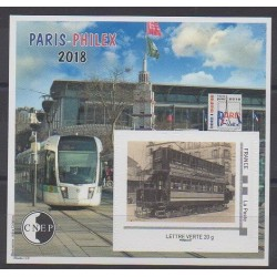 France - Feuillets CNEP - 2018 - No CNEP 78 - Transports