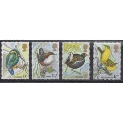 Great Britain - 1980 - Nb 922/925 - Birds