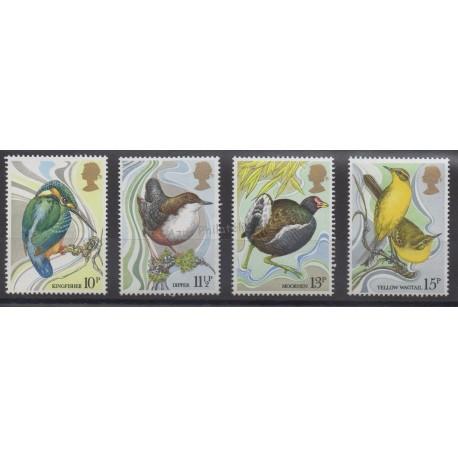 Grande-Bretagne - 1980 - No 922/925 - Oiseaux