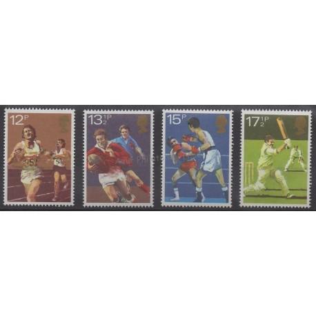 Grande-Bretagne - 1980 - No 955/958 - Sport