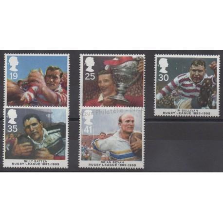 Great Britain - 1995 - Nb 1837/1841 - Sport