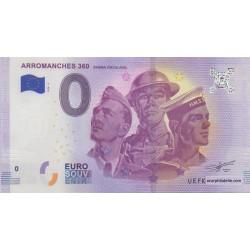 Euro banknote memory - 14 - Arromanches 360 - 2018-2