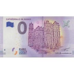Euro banknote memory - 12 - Cathédrale de Rodez - 2018-1