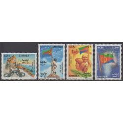 Eritrea - 1995 - Nb 266/269