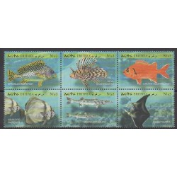 Eritrea - 2000 - Nb 391/396 - Sea animals