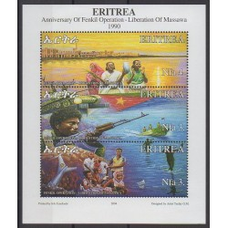 Érythrée - 2004 - No 476/478 - Histoire