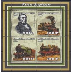 Mozambique - 2002 - Nb 2076/2079 - Trains