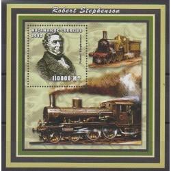 Mozambique - 2002 - No BF121 - Chemins de fer