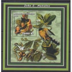 Mozambique - 2002 - No BF115 - Oiseaux - Peinture