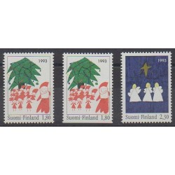 Finland - 1993 - Nb 1198/1199 - 1198a - Christmas