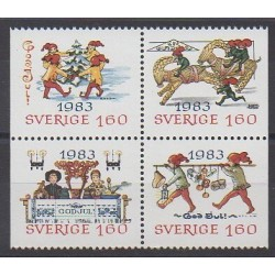 Sweden - 1983 - Nb 1240/1243 - Christmas