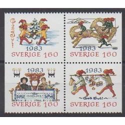 Suède - 1983 - No 1240/1243 - Noël