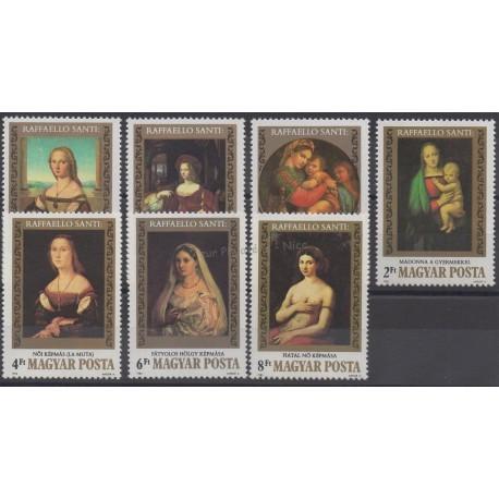 Hongrie - 1983 - No 2854/2860 - Peinture