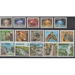Southern Rhodesia - 1978 - Nb 300/314 - Sites