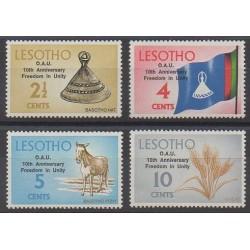 Lesotho - 1973 - No 238/241 - Histoire