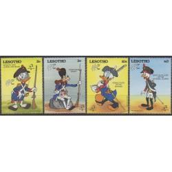 Lesotho - 1989 - Nb 829/832 - Walt Disney