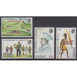 Lesotho - 1974 - Nb 272/275 - Various Historics Themes