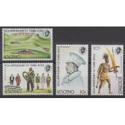Lesotho - 1974 - No 272/275 - Histoire