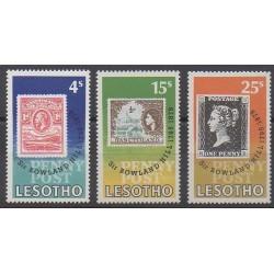 Lesotho - 1979 - No 380/382 - Timbres sur timbres