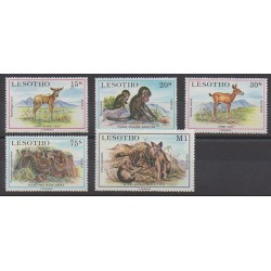 Lesotho - 1984 - No 605/609 - Animaux