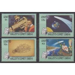 Lesotho - 1986 - No 677/680 - Astronomie