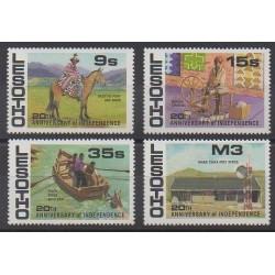 Lesotho - 1986 - No 695/698 - Histoire