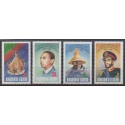Lesotho - 1985 - Nb 624/627