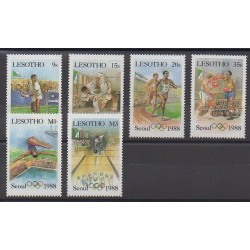 Lesotho - 1987 - Nb 715/720 - Summer Olympics