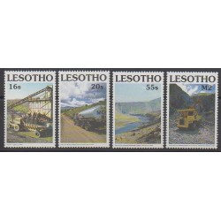 Lesotho - 1990 - No 908/911 - Transports