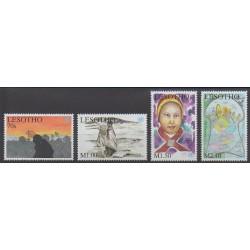 Lesotho - 2001 - No 1705/1708 - Dessins d'enfants