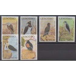 Lesotho - 2001 - No 1719/1724 - Oiseaux