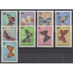 Hungary - 1966 - Nb 1790/1798 - Insects