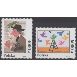 Pologne - 1994 - No 3289/3290 - Art