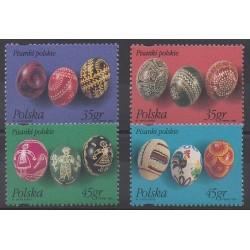 Pologne - 1995 - No 3320/3323 - Pâques