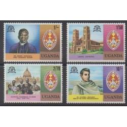 Uganda - 1979 - Nb 172/175 - Religion