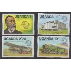 Ouganda - 1981 - No 254/257 - Service postal