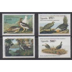Ouganda - 1985 - No 393/396 - Oiseaux