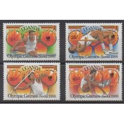 Uganda - 1988 - Nb 502/505 - Summer Olympics