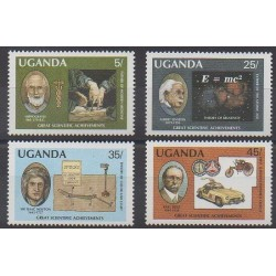 Uganda - 1987 - Nb 466/469 - Science