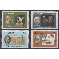 Ouganda - 1987 - No 466/469 - Sciences et Techniques