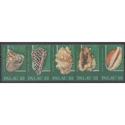 Palau - 1986 - No 132/136 - Animaux marins