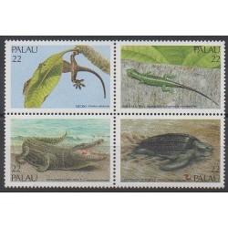 Palau - 1986 - No 141/144 - Reptiles