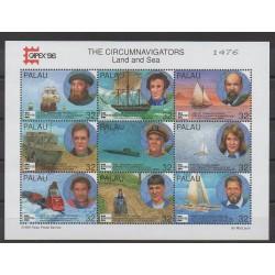 Palau - 1996 - No 887/895 - Navigation
